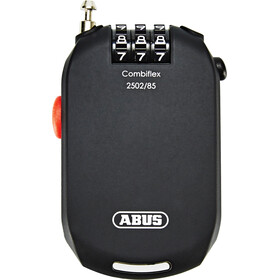 ABUS Combiflex Pro 2502 Cykellås Tydliga siffror svart